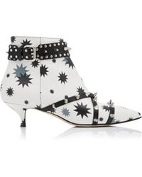 RED Valentino - Studded Ankle Boot - Lyst