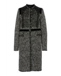 Giambattista Valli - Tailored Tweed Coat - Lyst