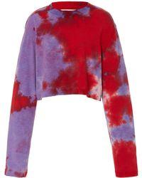 Cotton Citizen - Tokyo Crop Long Sleeve Shirt - Lyst