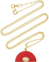 Andrea Fohrman - Red Rainbow And Diamond Necklace - Lyst