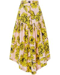 Marissa Webb - Oliver Print Skirt - Lyst