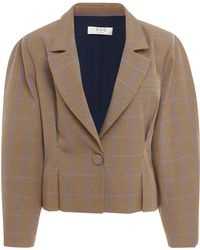 Sea - Peyton Plaid Blazer - Lyst