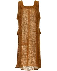 Cult Gaia - Sheer Lael Apron Cover Up - Lyst