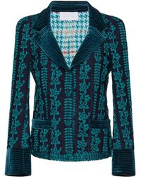 Luisa Beccaria - Macrame Fitted Jacket - Lyst