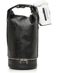 Givenchy - Jaw Large Faux Leather Bag - Lyst