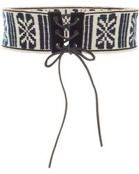 Anna Sui - Gathering Of The Tribes Belt - Lyst