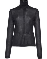 Martin Grant - Fitted Turtleneck - Lyst