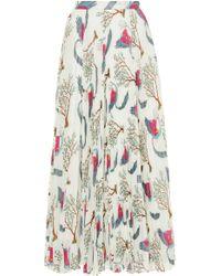 Claudia Li - Pleat On Pleat Skirt - Lyst