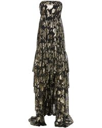 MESTIZA NEW YORK - Alessandra High Low Gown - Lyst
