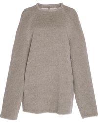 Martin Grant - Alpaca-wool Belted Sweater - Lyst