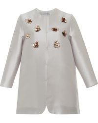 Kalmanovich - Flower Embroidered Jacket - Lyst