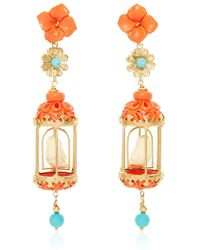 Of Rare Origin - Coral Aviary Classic Earring - Lyst