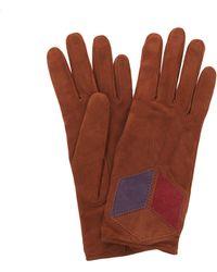 Bottega Veneta - Matt Suede Gloves - Lyst