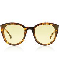 Spektre - Denora Cat-eye Tortoiseshell Sunglasses - Lyst
