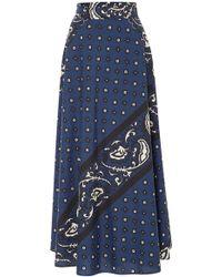 RED Valentino - Bandana Print A-line Skirt - Lyst