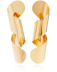 Bia Daidone - Loop 24k Gold-plated Earrings - Lyst
