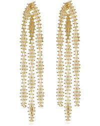 Rosantica - Voluttà Gold-tone Brass Earrings - Lyst