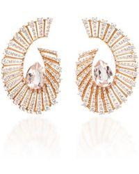 Hueb - Labyrinth Morganite Earrings - Lyst