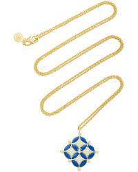 Amrapali - Mosaic 18k Gold And Diamond Necklace - Lyst