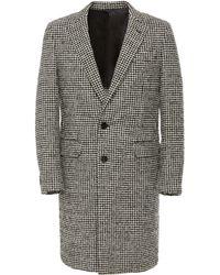 Eidos Wool Houndstooth Car Coat