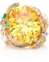 Anabela Chan - Citrine Swallowtail Ring - Lyst