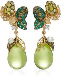 Anabela Chan - Appleberry 18k Gold Multi-stone Earrings - Lyst