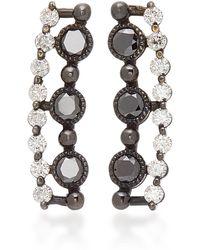 Colette - Masai 18k Gold And Diamond Ear Cuffs - Lyst
