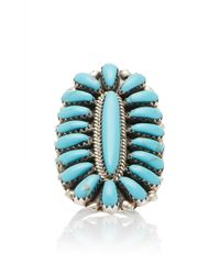 Fallon - One-of-a-kind Turquoise Sterling Ring - Lyst