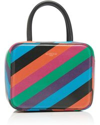 Michino Paris - Striped Squarit Pm Bag - Lyst