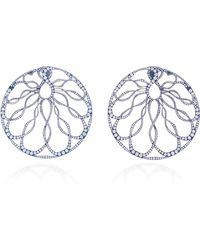 Arunashi - One-of-a-kind Diamond Hoop Earrings - Lyst