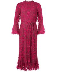 Needle & Thread - Demetria Signature Midaxi Dress - Lyst