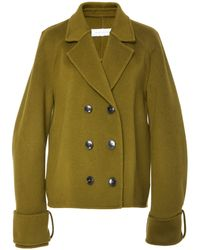 Marina Moscone - Trapeze Double Breasted Jacket - Lyst