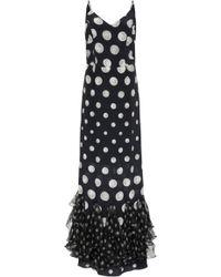 Isolda - Nathalia Dress Pearl - Lyst