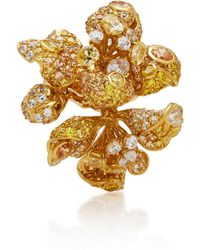 Anabela Chan - Bloomingdale 18k Gold Diamond Ring - Lyst