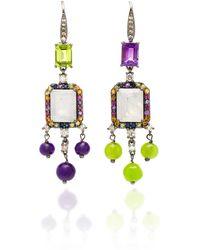 Holly Dyment - Empress Moonstone Earrings - Lyst