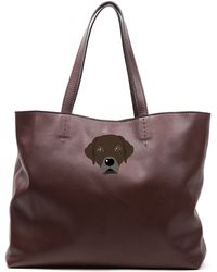 Del Toro - Chocolate Lab Tote Bag - Lyst
