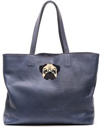 Del Toro - Pug Tote Bag - Lyst