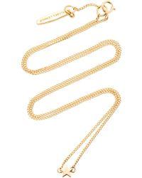 ISABEL LENNSE - Mini Star 14k Gold Necklace - Lyst