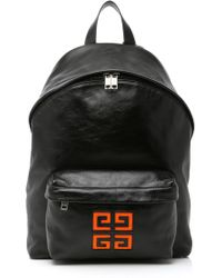 Givenchy - Leather Logo Backpack - Lyst