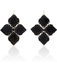 Ashley Pittman - Angalia Horn And Bronze Chandelier Earrings - Lyst