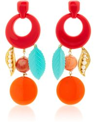 Lulu Frost - One-of-a-kind Vintage Cherry Red Earrings - Lyst