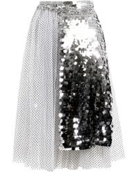 Anouki | Sparkly Apron Skirt | Lyst