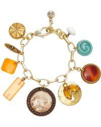 Lulu Frost - M'o Exclusive Vintage Victorian Button Charm Bracelet - Lyst