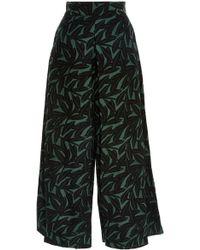 WHIT - Sun Shadow Print Linen Pants - Lyst
