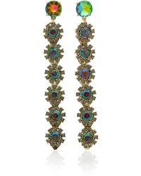 Lulu Frost - Beam Crystal Drop Earrings - Lyst