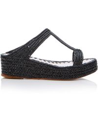 Carrie Forbes - Bouchra Wedge Sandal - Lyst