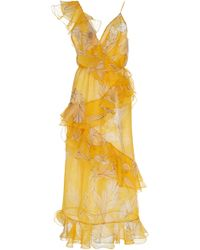 Johanna Ortiz - Sunlight Silk Organza Dress - Lyst