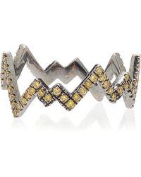 Diane Kordas - Yellow Pop Art Ring - Lyst