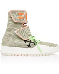 Off-White c/o Virgil Abloh - Moto Wrap Sneaker - Lyst