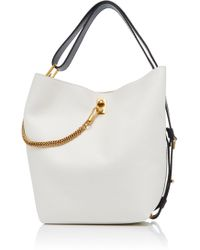Givenchy - Gv Medium Chain-trimmed Leather Tote - Lyst